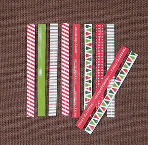 Long Christmas Twist Ties | www.bakerspartyshop.com