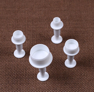 Mini Circle Fondant Cutters | www.bakerspartyshop.com