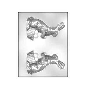 Easter Rabbit Chocolate Mold: 6"