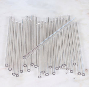 Clear Lollipop Sticks: 4.5"