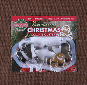 Over the Edge Christmas Cookie Cutters | www.bakerspartyshop.com