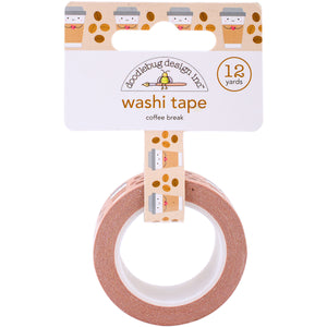 Coffee Washi Tape | www.bakerspartyshop.com