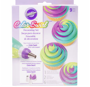 Wilton Color Swirl Decorating Set | www.bakerspartyshop.com