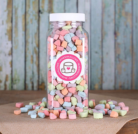 Dehydrated Marshmallow Shapes | www.bakerspartyshop.com
