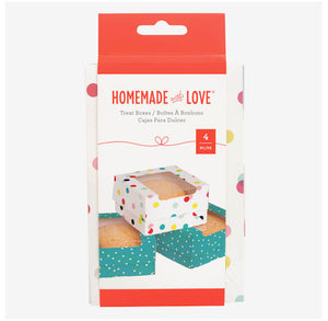 Small Cookie Boxes: Party Dots | www.bakerspartyshop.com