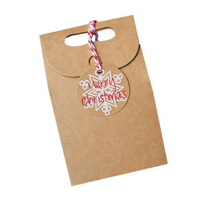 Merry Christmas Treat Boxes + Tags