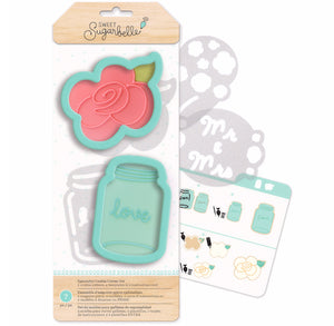 Sweet Sugarbelle Country Rose Cookie Cutters | www.bakerspartyshop.com