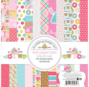 Cream and Sugar Paper Pad | www.bakerspartyshop.com