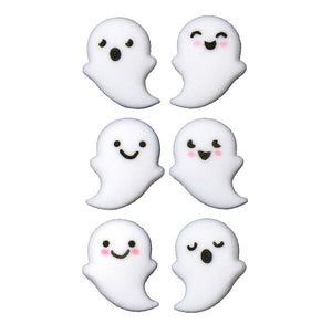 Ghost Sugar Toppers | www.bakerspartyshop.com