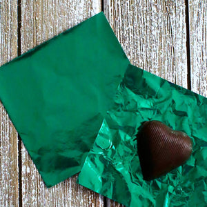 Dark Green Foil Candy Wrapper | www.bakerspartyshop.com