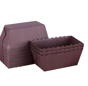Brown Mini Loaf Pans | www.bakerspartyshop.com