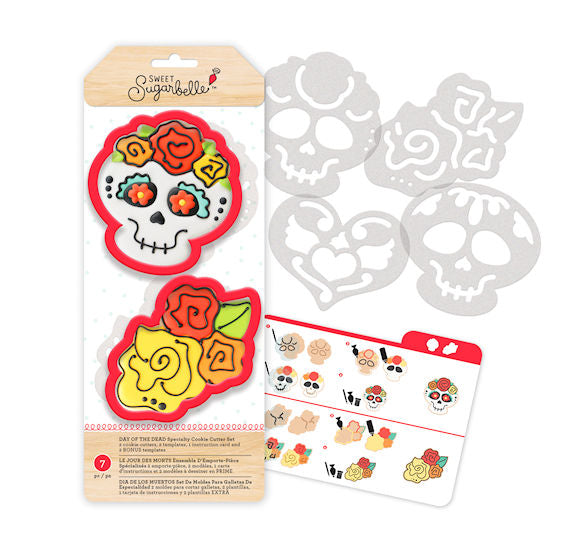 Sweet Sugarbelle Day Of The Dead Cookie Cutters Skull