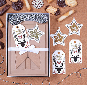 Christmas Cookie Box Kit: Hello Winter | www.bakerspartyshop.com