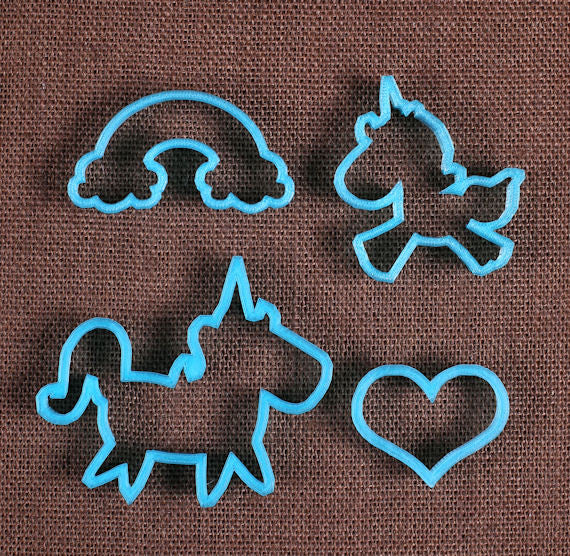 Designer Unicorn Cookie Cutter Set Unicorn Biscuit