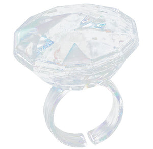 Diamond Cupcake Topper Rings | www.bakerspartyshop.com