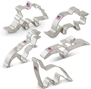 Dinosaur Cookie Cutter Set | www.bakerspartyshop.com
