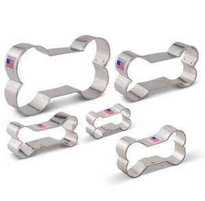 Dog Bone Cookie Cutters Set | www.bakerspartyshop.com