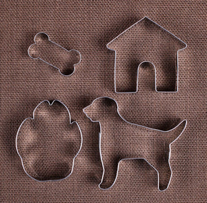 Dog Cookie Cutter Set | www.bakerspartyshop.com