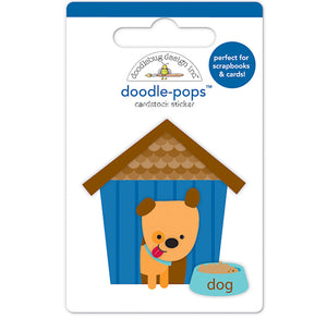 Large Dog House Sticker | www.bakerspartyshop.com