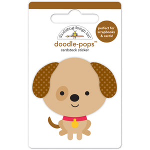 Large Puppy Sticker | www.bakerspartyshop.com