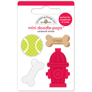 Doodle-Pops Playful Puppy Stickers | www.bakerspartyshop.com