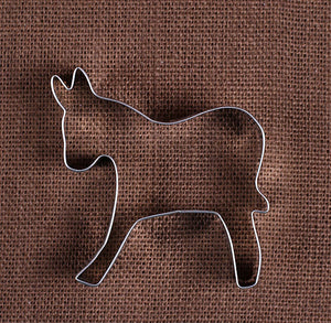 Donkey Cookie Cutter | www.bakerspartyshop.com