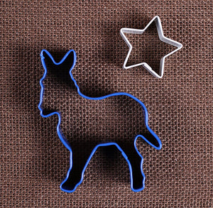 Patriotic Donkey Cookie Cutter Set | www.bakerspartyshop.com