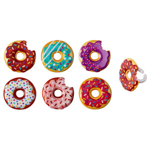Donut Cupcake Topper Rings | www.bakerspartyshop.com