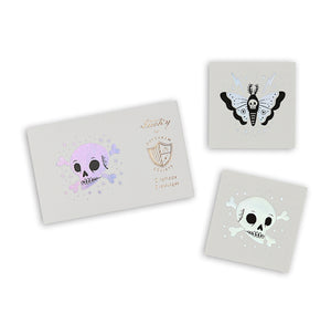 Halloween Temporary Tattoos: Doomsday | www.bakerspartyshop.com