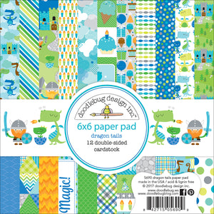 Dragon Tails Paper Pad | www.bakerspartyshop.com