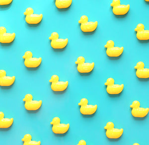 Yellow Duck Candy Sprinkles | www.bakerspartyshop.com