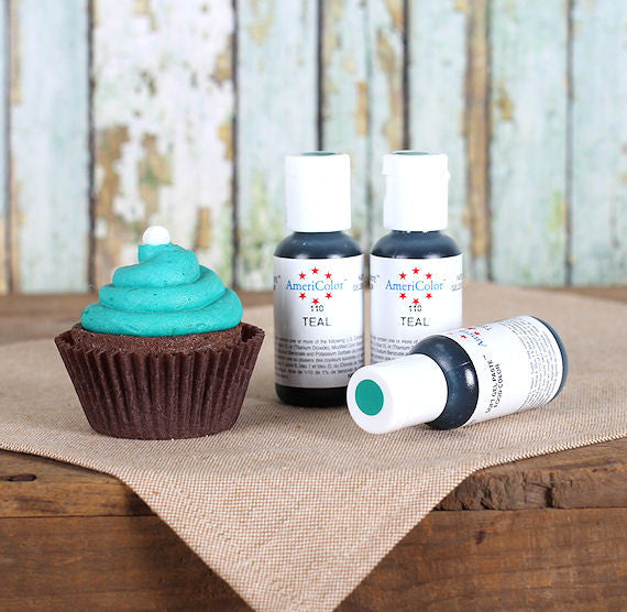 Teal Soft Gel Paste Food Coloring, Teal Food Coloring | The Bakers ...