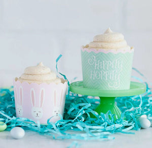 Easter Baking Cups: Hippity Hop | www.bakerspartyshop.com