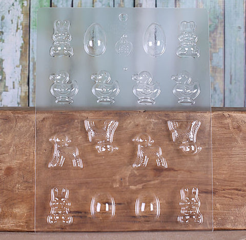 Easter Candy Chocolate Mold | www.bakerspartyshop.com