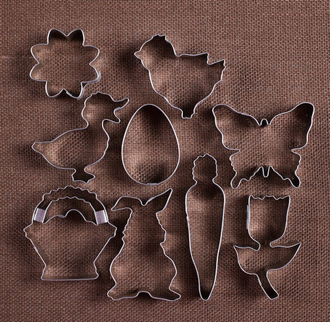 Easter Cookie Cutter Set | www.bakerspartyshop.com