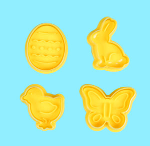 Easter Cookie Cutter Stampers | www.bakerspartyshop.com