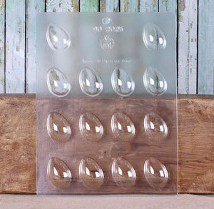 Easter Egg Chocolate Mold: Small | www.bakerspartyshop.com