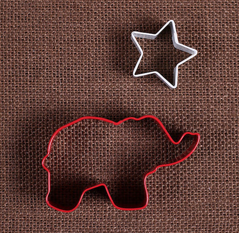 Patriotic Elephant Cookie Cutter Set | www.bakerspartyshop.com