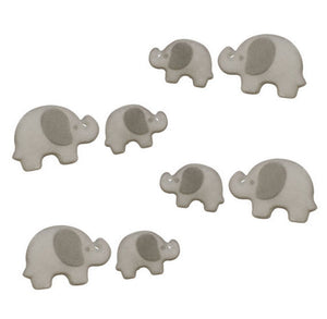 Elephant Sugar Toppers