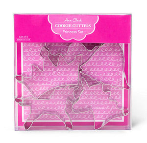 Unicorn Princess Cookie Cutters Set | www.bakerspartyshop.com