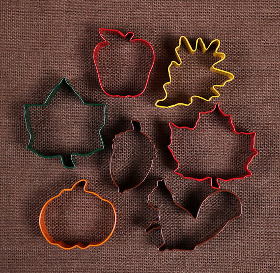 Fall Cookie Cutter Set | www.bakerspartyshop.com