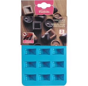 Small Fancy Rectangle Candy Molds | www.bakerspartyshop.com