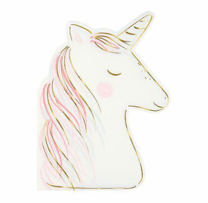 Fancy Unicorn Napkins | www.bakerspartyshop.com