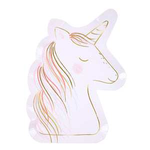 Fancy Unicorn Plates | www.bakerspartyshop.com