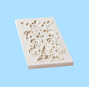 Silicone Filigree Mold | www.bakerspartyshop.com
