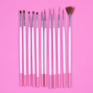 Fine Tip Paint Brush Set | www.bakerspartyshop.com