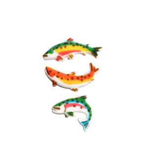 Fish Sugar Toppers | www.bakerspartyshop.com