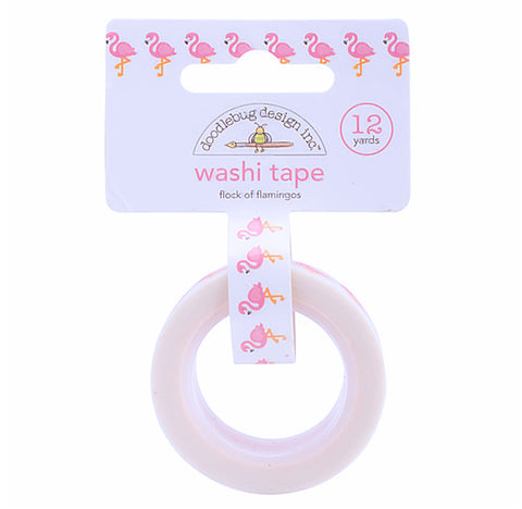 Flamingo Washi Tape | www.bakerspartyshop.com