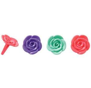 Flower Cupcake Picks | www.bakerspartyshop.com