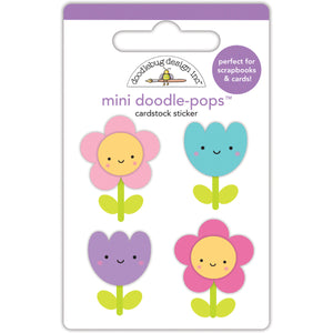Doodle-Pops Happy Flower Stickers | www.bakerspartyshop.com